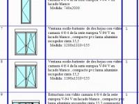 Presupuestos de puertas y ventanas toldos vidrios for Presupuesto online ventanas aluminio